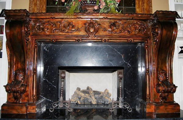 Cast Stone Fireplace Mantels Gypsum Plaster